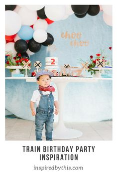 Choo Choo Train Birthday, 2nd Birthday Party Themes, Boy Party Themes
