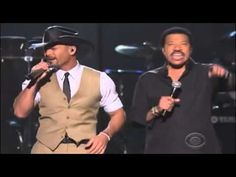 """Lionel Richie & Tim McGraw - Sail On - @ MGM """"LIVE"""" with Songtext -"""