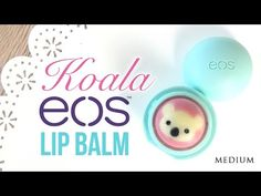 DIY EOS Koala Lip Balm! - NO crayons, beeswax or clingfilm required with this super easy method - YouTube