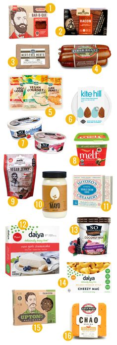 We don't rely on store-bought faux dairy and meat products a ton here at Oh My Veggies, but there are a few out there that we really love. (Hey, sometimes even vegans just want mac and cheese from a box.) We've rounded up 16 of our recent favorites here.Note that we received samples of products...Read More »