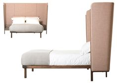 Dubois Bed by Luca Nichetto and manufactured by De La Espada