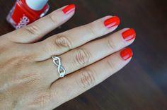 Einfaches DIY Tutorial für einen Infinity Ring #diy #ring #tutorial