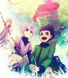 Gon, Killua and Kurapika ~ Hunter x Hunter.