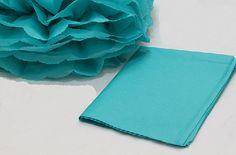 Como fazer pompom ou flores de papel de seda - Artesanato fácil para decoração de festas e outros eventos ~ VillarteDesign Artesanato
