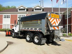 International Snow Plow Truck