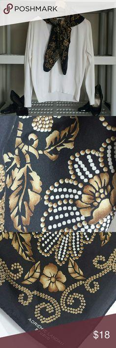 Selling this 🔥VINTAGE🔥ADRIENNE LANDAU STUDIO  SILK SCARVE on Poshmark! My username is: aharrison40. #shopmycloset #poshmark #fashion #shopping #style #forsale #Vintage #Accessories