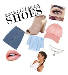 """""""outfit girly"""" by dylanobriengirlfriend on Polyvore featuring Schutz, Miu Miu and Armitage Avenue"""