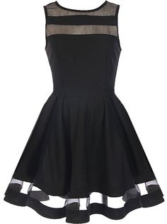 Peekaboo Twirl Dress