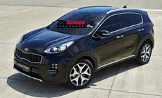 The new Kia Sportage is heading for a debut at the Frankfurt Motor Show, but ahead of that we have the first leaked photos of Kia's new compact SUV. Kia Sportage, Cars Uk, Compact Suv, Digital Trends, Frankfurt, Car Photos, Car Ins, Hot Wheels, Cars Motorcycles