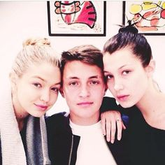 Anwar Hadid 2014 | Gigi Hadid, Anwar Hadid & Bella Hadid --  future fashion modeling dynasty.  Oh I hope they don't end up being a joke like the Kardashians.