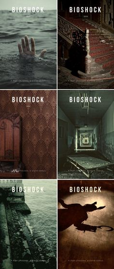 Bioshock (2007) //  We all make choices, but in the end our choices make us.
