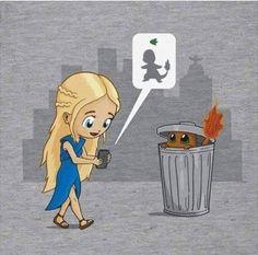 Haha! Game of Thrones/Pokemon mashup.