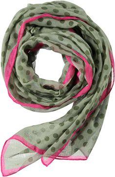 Passigatti Sjaal - Dots Khaki | Luxedy 25,95 euro www.luxedy.com