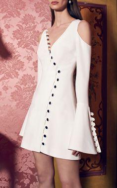 Galen Button Dress by Alexis