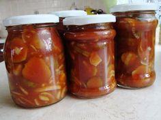Ogórki w ketchupie Polish Recipes, Pickles, Cucumber, Salsa, Easy Diy, Food And Drink, Cooking, Spirit, Holiday