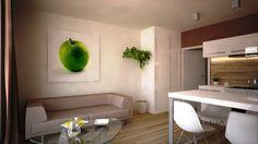 Vizualizácia bytov na podlaží 3 - 10