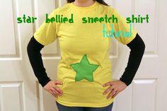 Star Bellied Sneetches shirt tutorial sneech, costum, idea, seuss book, star belli, stars, sneetch, dr seuss shirts for school, shirt tutori