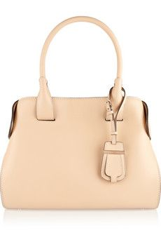 Tod's Cape small leather tote | NET-A-PORTER