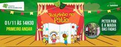 Shopping Pátio Guarulhos apresenta teatrinho com Peter Pan e a Magia das Fadas | Jornalwebdigital