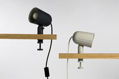 Noc by SmithMatthias for Wrong for Hay. An aluminium light with two points of adjustment.