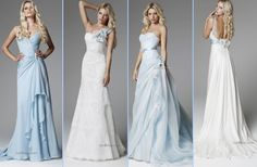 Blumarine 2013 Bridal Collection | Blue Wedding gowns