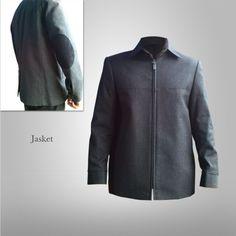 Jasket Siku Variasi Kulit limited edition