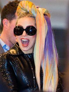 Celebrity hair: Lady Gaga
