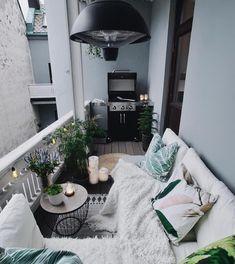 Small balcony ideas, balcony ideas apartment, cozy balcony design, outdoor balcony, balcony ideas on a budget Decor, Apartment Living, Interior, Apartment Design, Home, Apartment Interior, Room Inspiration, House Interior, Apartment Balcony Decorating