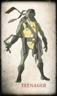TMNT Michelangelo by ~devilmonkey77 on deviantART