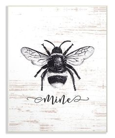 Another great find on #zulily! 'Bee Mine' Wall Art #zulilyfinds
