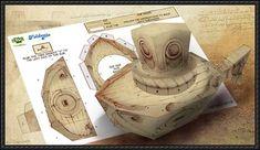 Leonardo - Leonardo Submarine Foldee Free Papercraft Download