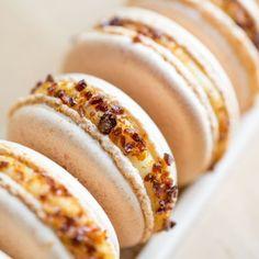Creme Brûlée Macarons
