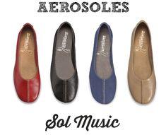 Aerosoles Sol Music: affordable, super soft for sensitive feet.