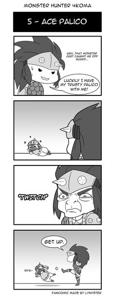 Batch two of MH4U Adventures- Now called Monster Hunter 4Koma! - Album on Imgur
