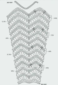 ЧУДЕСА РУКОДЕЛИЯ: Схемы для юбок с расширением крючком. Подборка схем