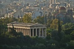 The Temple of Hephaestus also served as the first archaeological museum of Athens until the construction of the official one in Exarheia. (Walking Athens, Route 03 - Psiri / Monastiraki)