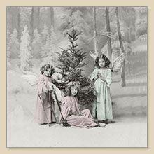 Serwetka do decoupage Christmas Angels Serwetki do decoupage - sklep Decoupage Art.pl
