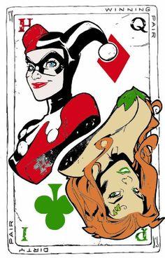 Harley Quinn + Poison Ivy