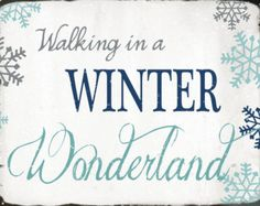 Walking In A Winter Wonderland Clipart