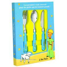 Pour que vos enfants partagent leurs repas avec leurs personnages préférés voici les couverts Petit Prince de Petit Jour Paris. Passez à table avec les couverts Petit Prince. A découvrir sur www.rennandesign.com