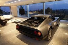 Who wouldn't want to have a Ferrari 512 BB in their living room? Winning Garages of Maserati Design Driven Competition Photo Gallery - Autoblog