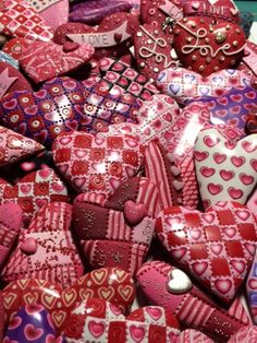 The heart of the matter – Polymer Clay Daily