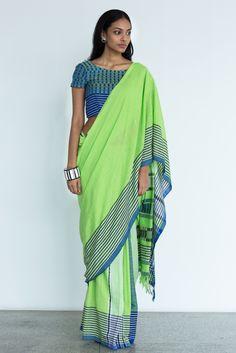 Field & Shadow Saree from FashionMarket.lk
