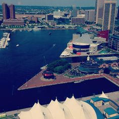 Baltimore, the inner harbor, lots of things to do