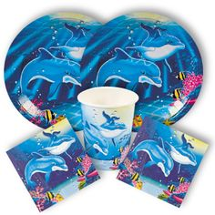 Dolphin Party Supplies from www.DiscountPartySupplies.com