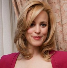 2014 hairstyles for women over 40-Shoulder Length Hairstyle with curls See more http://www.womensandmenshairstyle.net/