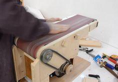 homemade tools Belt sander build: Redoing the adjustments