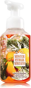 Winter Citrus Wreath Gentle Foaming Hand Soap - Soap/Sanitizer - Bath & Body Works
