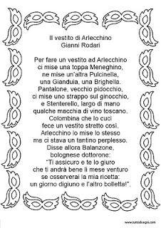 """Le Piccole Emozioni: """"Il vestito di Arlecchino"""" College Board, Carnival, Student, Writing, Education, Learning, School, Life Coaching, Man"""