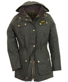 Barbour troop parka womens